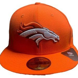New Era Denver Broncos 59Fifty Hat Fitted 8""